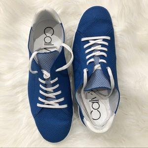 Royal blue Calvin Klein sneakers